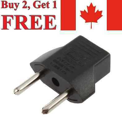 US/AU (Canada/Australia) to EU (Europe) Converter AC Power Plug Travel Adapter