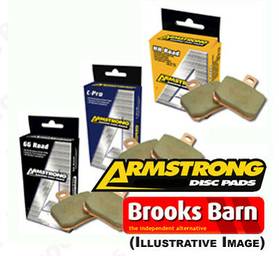 Yamaha YZF-R1 2006 Armstrong Sintered Front Brake Pads HH (FA380HH)