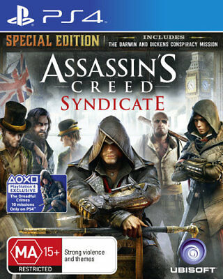 Assassins Creed Syndicate Special Edition PS4 (PAL) New!