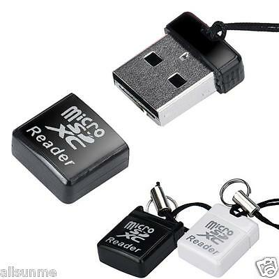 1pc New Portable MINI Super Speed USB 2.0 Micro SD/SDXC TF Card Reader Adapter