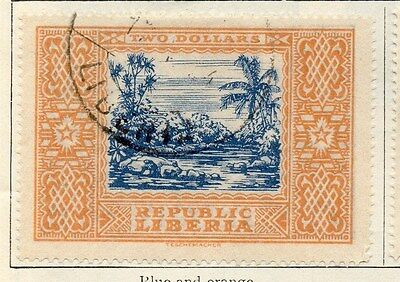 Liberia 1923 Early Issue Fine Used $2. 050418