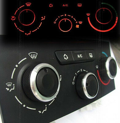 Fit For Peugeot 307 Heater Knobs Dials A/c Switch Buttons Control Cover