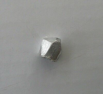 1 gram Indium sample, 99.995% great for element collectors