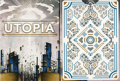 Utopia Deck Of Playing Cards By Card Experiment & Uspcc Bicycle Magic Tricks