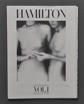 David Hamilton Seize Phototypies Portfolio Limited Edition 629/2000 Limitée 1978