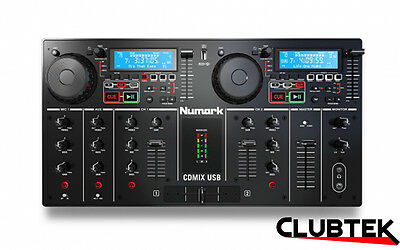 Numark CD Mix USB Standalone DJ Workstation Dual CD/MP3/USB Player UK