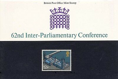 GB - 1975 - Presentation Pack - 62nd Inter-Parliamentary Conference
