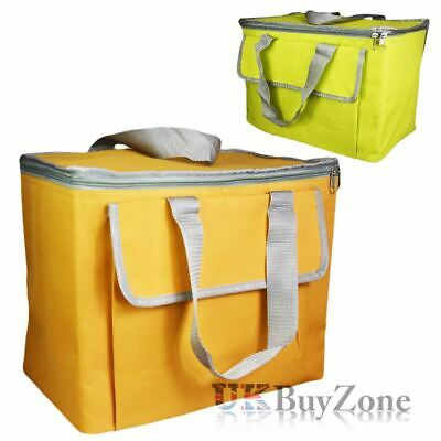 Large 30L Insulated Cool Bag Camping Picnic Cooler Box Travel Lunch Ice Food