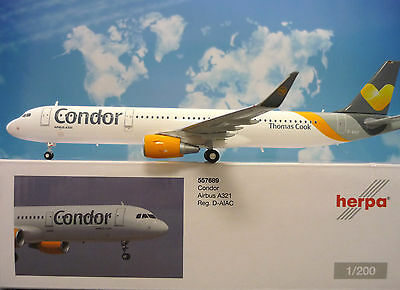 Herpa Wings 1:200 Airbus A321 Condor D-AIAG  557689