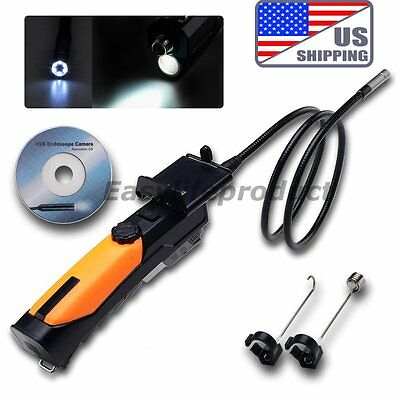 US WiFi Inspection Camera Borescope Wireless Endoscope 1M Pad IPhone iOS Android