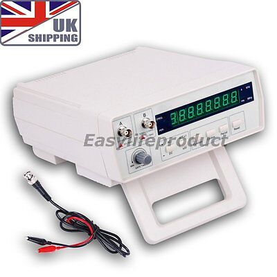UK VC3165 Radio Frequency Counter RF Meter Tester Gauge 0.01Hz~2.4GHz Signals