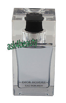 Dior Homme Eau For Men After Shave Lotion Christian Dior 3.4oz/100ml New & Unbox