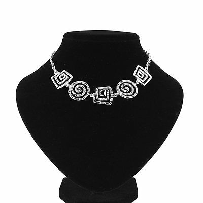New Fashion Women/Girls 925 Sterling Silver Charm Necklace Pendent Jewelry Gift