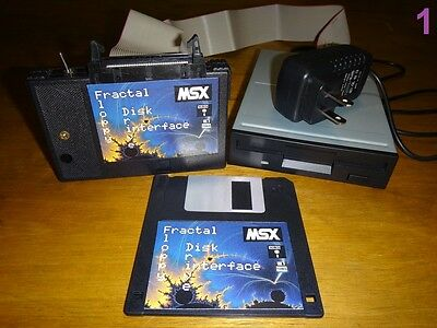 MSX 2 / 2+ FDD Fractal Floppy Disk Drive interface KIT complete ready to use NEW