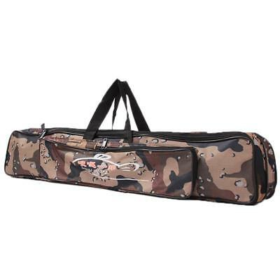 Outdoor Fishing Rod Case Bag Organizer Tackle Waterproof Storage Two-Layer Bags