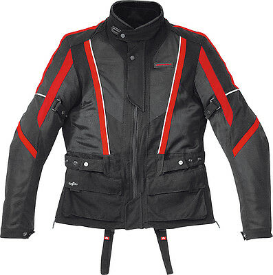 Spidi Netwin All Season Jacket Black/red 3X
