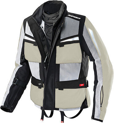 Spidi Netforce H2Out Jacket Ice/black X