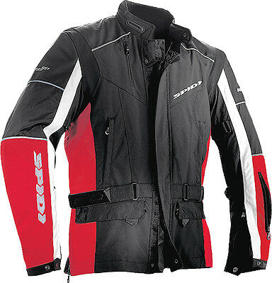 Spidi Voyager Jacket Black/red 2X