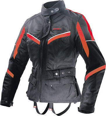 Spidi Netwin All Season Ladies Jacket Black/red X