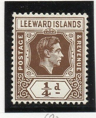Leeward Islands 1938-51 Early Issue Fine Mint Hinged 1/4d. 050701