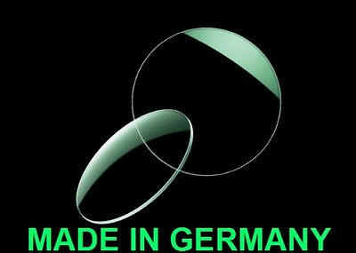 2 Single Vision Lenses High Index 1,6 with AR Coating MADE IN GERMANY