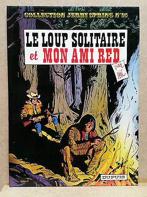 Jijé : Jerry Spring - T15 Le loup solitaire & Mon ami Red - 1979