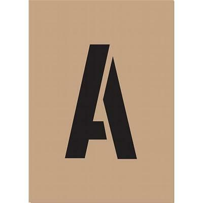 Hy-ko ST-2 2 in. Reusable Carded Number & Letter Stencil Pack of 6