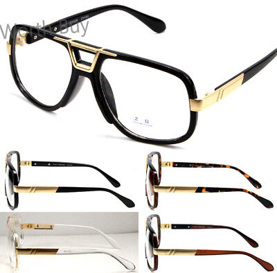 Mens Womens DMC Square Gazelle Clear Lens Frame Fashion Glasses Designer Club