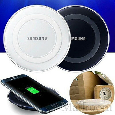 Fast Qi Wireless Charger Ladegeräte Ladestation For Samsung Galaxy S7/S7 Edge