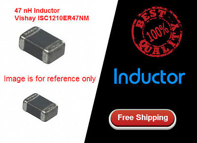 5 Pcs Fixed Inductors 47 nH Vishay ISC1210ER47NM Surface Mount