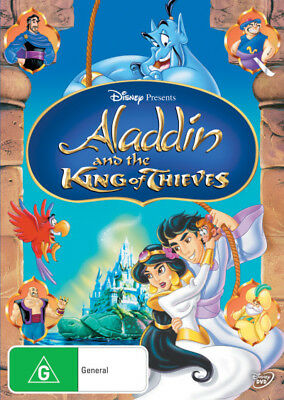 Aladdin and the King of Thieves DVD R4 (New)!