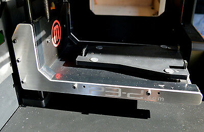 Makerbot Replicator 2 Aluminum Arm Stiffeners *USA MADE* Replicator 1 and 2