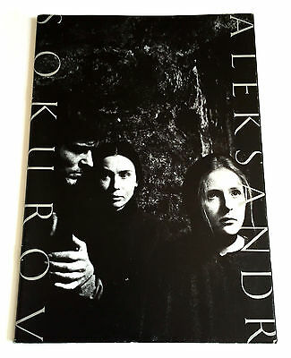 ALEKSANDR SOKUROV FILM FESTIVAL JAPAN MOVIE PROGRAM BOOK 1994 Maria