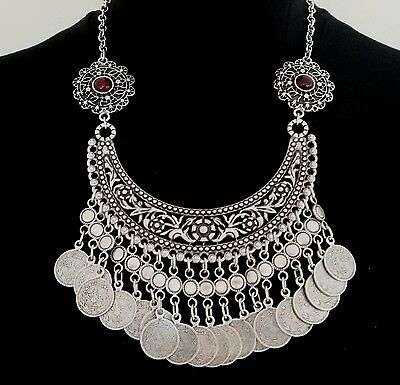 Turkish Made Silver Plated Necklace S0065K