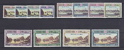 OMAN – 1972 Paintings of Ports definitive set MNH-VF – Scott 139-50