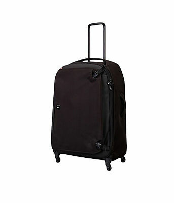Crumpler The Dry Red No 11 Four-Wheeled Luggage Bag(Black)
