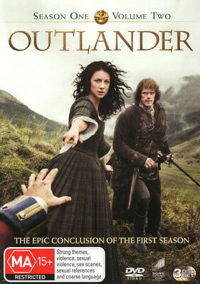 Outlander - Season 1 Volume 2 DVD R4 Brand New!
