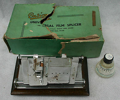 Vintage  Ensign Universal Splicer  by Houghton-Butcher Manfg Co.Ltd + Embacoid