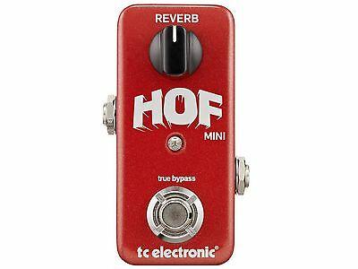Tc Electronic Hall Of Fame Mini Effetto Riverbero A Pedale Con Toneprint