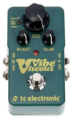 Tc Electronic Viscous Vibe Effetto Phaser A Pedale Per Chitarra