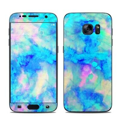 Galaxy S7 Skin - Electrify Ice Blue by Amy Sia - Sticker Decal