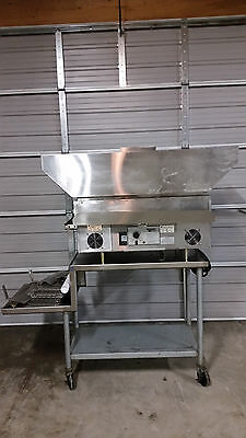 Quizno's QT14 Holman Conveyor Oven Stand Extra Element Pans Covers Tested 208v