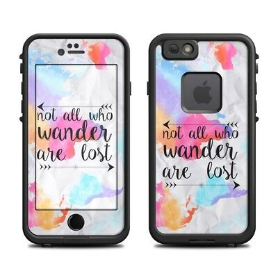 Skin for LifeProof FRE iPhone 6/6S - Wander Map- Sticker Decal