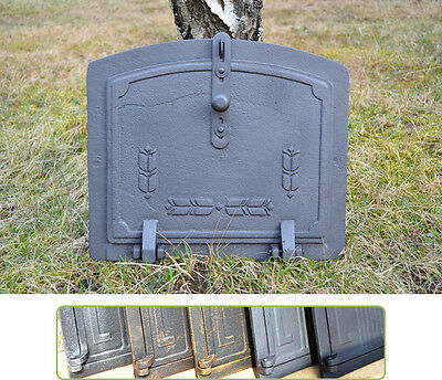 36,5x31,5 Cast iron fire door clay / bread oven / pizza stove smoke house DZ013 • CAD $125.52