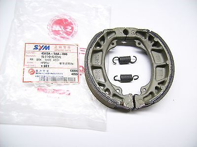 Sym Brake Pads Shoes for xpro50 hp05u & DD Dimensions Note! OEM 4312a-taa-000