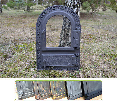 33x49,5 New Cast iron fire door clay / bread oven / pizza stove fireplace DZ004