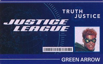HEROCLIX World's Finest WFID-004 GREEN ARROW ID CARD Unscratched
