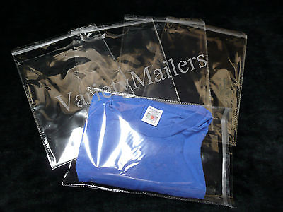 "300 T-Shirt Cello Merchandise / Storage Bags 8""x 10"" Self-Sealing & Resealable"