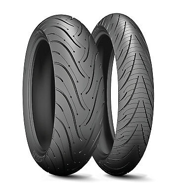 For BMW R 1200 RT 2010-13 Michelin Pilot Road 3 Front Tyre (120/70 ZR17) 58W