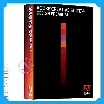 Adobe Creative Suite CS4 Design Premium for MAC CS 4 STU